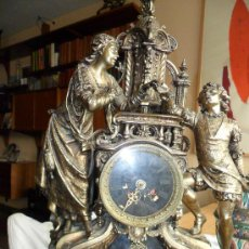 Relojes de carga manual: IMPONENTE RELOJ. ESTILO LUIS XV O LUIS XVI. BRONCE ¿?. Lote 33492937