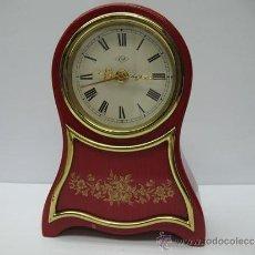 Relojes de carga manual: KIA - ANTIGUO RELOJ A CUERDA CON DESPERTADOR CON MÚSICA. Lote 33497992
