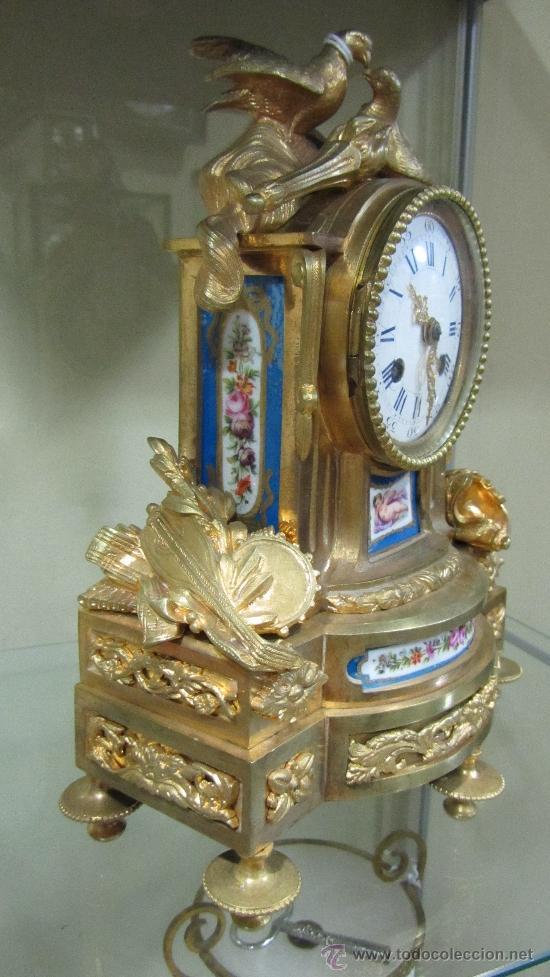Relojes de carga manual: Precioso reloj Francés tipo París siglo XIX. - Foto 2 - 33921078