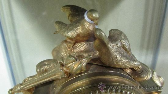 Relojes de carga manual: Precioso reloj Francés tipo París siglo XIX. - Foto 4 - 33921078