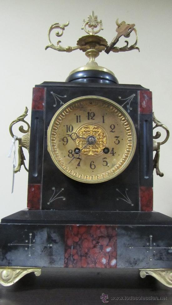 Relojes de carga manual: Reloj Francés tipo París siglo XIX. - Foto 2 - 33922581