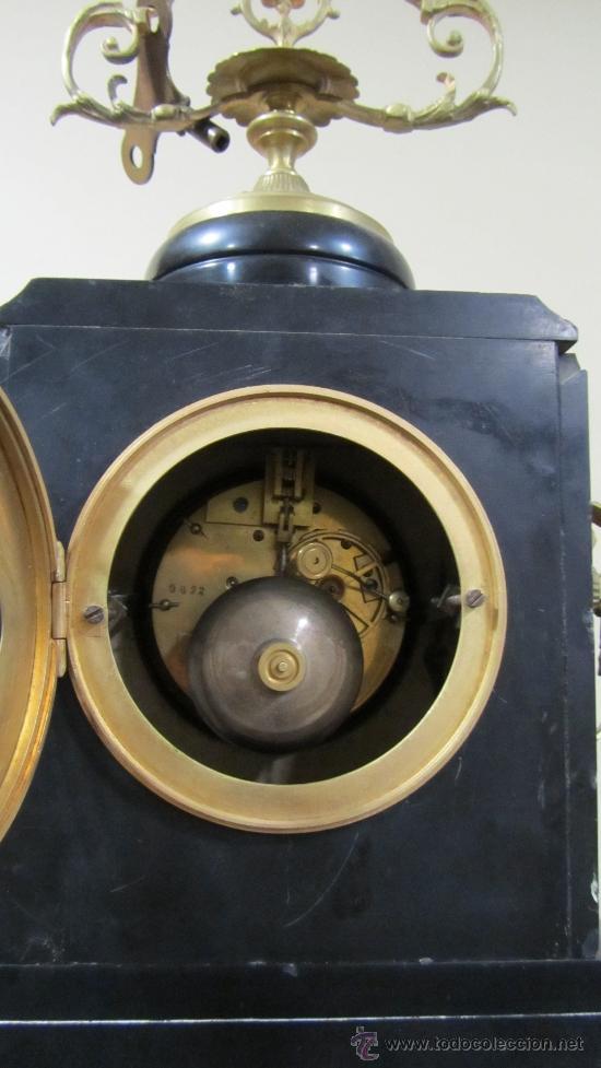 Relojes de carga manual: Reloj Francés tipo París siglo XIX. - Foto 4 - 33922581