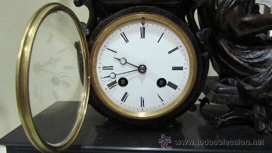 Relojes de carga manual: RELOJ FRANCÉS ESTILO IMPERIO SIGLO XIX - Foto 2 - 33924900