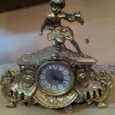 Relojes de carga manual: RELOJ SOBREMESA BRONCE. Lote 34145081