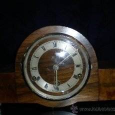 Relojes de carga manual: RELOJ CHIMENEA. ART DECÓ. Lote 35032476