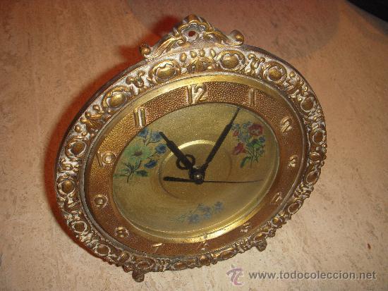 Relojes de carga manual: reloj de sobre mesa o pared con un encanto especial - Foto 5 - 35337279