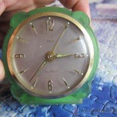 Relojes de carga manual: SONY ALARM DE CARGA MANUAL MUY BONITO VINTAGE. Lote 35551149