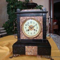 Relojes de carga manual: RELOJ SOBREMESA, MAQUINA PARIS GRANDE. Lote 35555187
