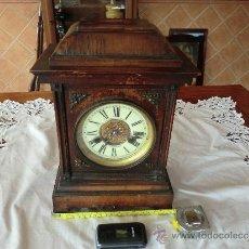 Relojes de carga manual: RELOJ ANTIGUO, PRINCIPIOS DEL SIGLO XX, FUNCIONA. Lote 35735514