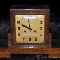 Relojes de carga manual: RELOJ DE SOBREMESA DE CARGA MANUAL DE APROXIMADAMENTE AÑOS 40-50. Lote 36356686