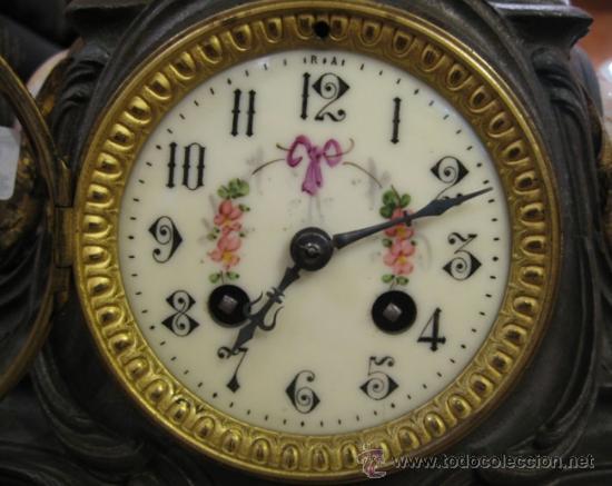 Relojes de carga manual: RELOJ SOBREMESA MÁQUINA PARIS Sur la Plage por Francois Moreau M ile D´or - Foto 10 - 36409760