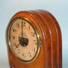 Relojes de carga manual: INTERESANTE RELOJ SOBREMESA ELECTRICO Y DE PENDULO, DECO, MARCA ATO, LEON HATOT, PARIS, FRANCE,1927. Lote 36197878