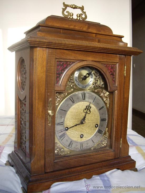 Relojes de carga manual: Antiguo Reloj Frances perfecto estado. - Foto 12 - 29860994