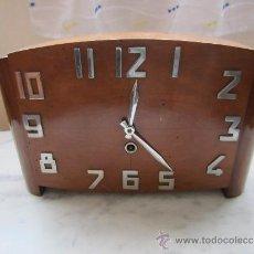Relojes de carga manual: RELOJ SOBREMESA ART DECO. Lote 37123446