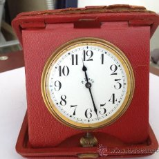 Relojes de carga manual: ANTIGUO RELOJ DE VIAJE , TIPO CARTERA . Lote 37741001