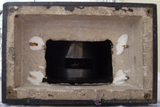 Relojes de carga manual: ANTIGUO RELOJ DE SOBREMESA MARMOL Y BRONCE NEGRO - Foto 7 - 37831042
