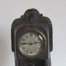Relojes de carga manual: RELOJ DE SOBREMESA DE CALAMINA - ESTILO MODERNISTA. Lote 38067319