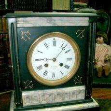 Relojes de carga manual: RELOJ DE CARGA MANUAL Y DE SOBREMESA ESTILO LUIS FILIPE. FIRMADO EN SU ESFERA POR ANTONINO CALLE MAY. Lote 38149202