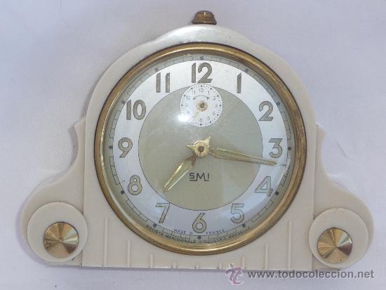 RELOJ DESPERTADOR FRANCÉS DE SOBREMESA (Relojes - Sobremesa Carga Manual)