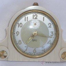 Relojes de carga manual: RELOJ DESPERTADOR FRANCÉS DE SOBREMESA. Lote 257339225