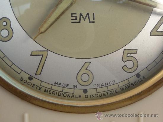 Relojes de carga manual: reloj despertador francés de sobremesa - Foto 6 - 257339225