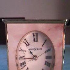 Relojes de carga manual: RELOJ DESPERTADOR DE SOBREMESA. HOWARD MILLER DE LOS AÑOS 50 .. Lote 41771709