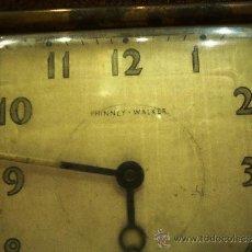 Relojes de carga manual: RELOJ ANTIGUO DENTRO DE CAJITA DE VIAJE MARCA PHINNEY-WALKER. Lote 39235322