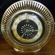 Relojes de carga manual: RELOJ DE SOBREMESA MARCA EQUITY CON ALARMA. Lote 39276658
