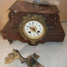 Relojes de carga manual: RELOJ DE SOBREMESA. Lote 39285152