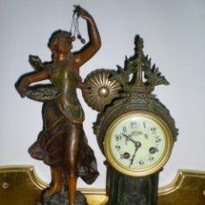 Relojes de carga manual: EXCELENTE RELOJ FRNACES MODERNISTA. Lote 39537696