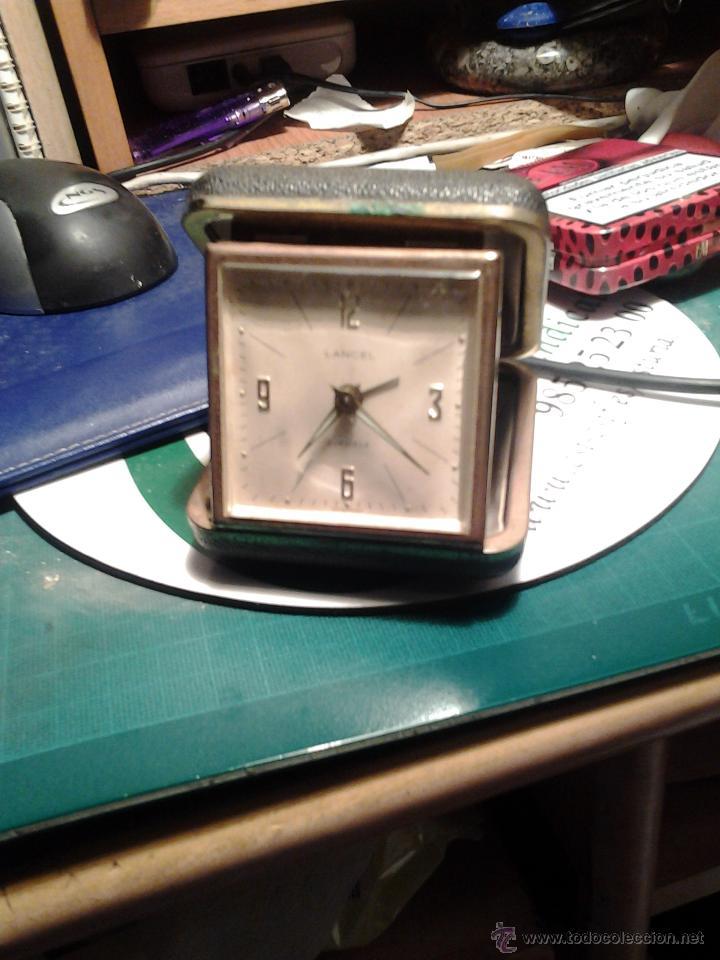 Relojes de carga manual: RELOJ DESPERTADOR LANCEL - Foto 2 - 39893028