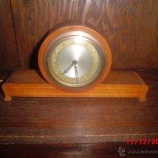 Relojes de carga manual: RELOJ ANTIGUO INGLES DE SOBREMESA FUNCIONANDO . Lote 85491351