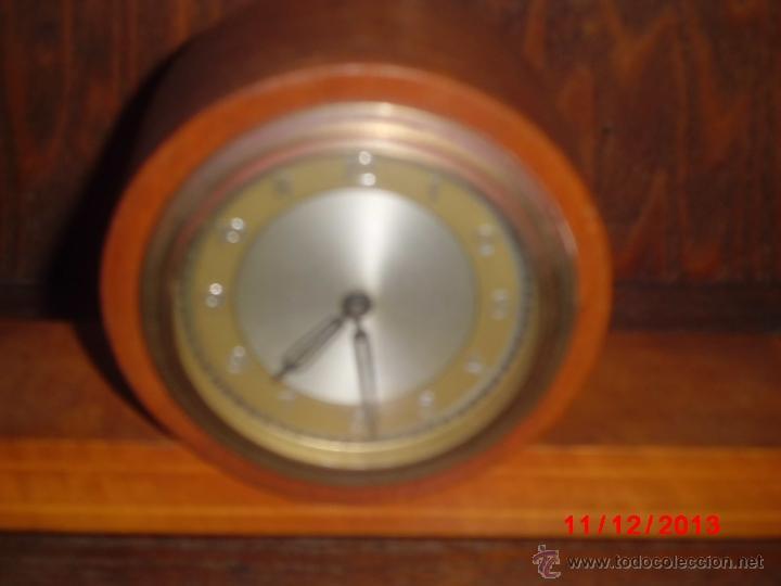 Relojes de carga manual: RELOJ ANTIGUO INGLES DE SOBREMESA FUNCIONANDO - Foto 2 - 85491351