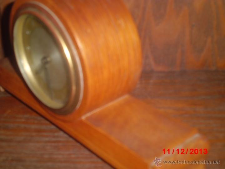 Relojes de carga manual: RELOJ ANTIGUO INGLES DE SOBREMESA FUNCIONANDO - Foto 3 - 85491351