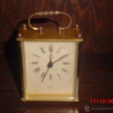 Relojes de carga manual: ANTIGUO RELOJ DE SOBREMESA CON MAQUINARIA DE CUARZO. Lote 40469646