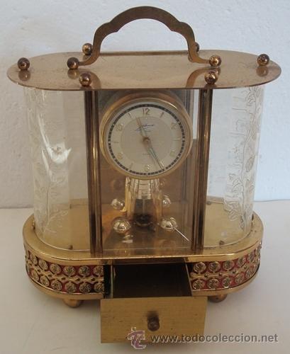 Relojes de carga manual: ANTIGUO RELOJ ALEMÁN SCHMID SCHLENKER CON CAJA MUSICAL - Foto 3 - 163568166