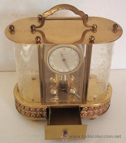 Relojes de carga manual: ANTIGUO RELOJ ALEMÁN SCHMID SCHLENKER CON CAJA MUSICAL - Foto 4 - 163568166