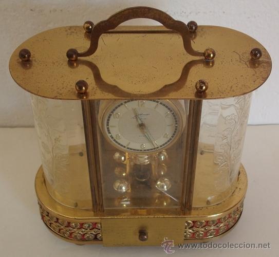Relojes de carga manual: ANTIGUO RELOJ ALEMÁN SCHMID SCHLENKER CON CAJA MUSICAL - Foto 5 - 163568166