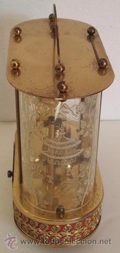 Relojes de carga manual: ANTIGUO RELOJ ALEMÁN SCHMID SCHLENKER CON CAJA MUSICAL - Foto 7 - 163568166