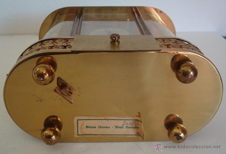 Relojes de carga manual: ANTIGUO RELOJ ALEMÁN SCHMID SCHLENKER CON CAJA MUSICAL - Foto 11 - 163568166