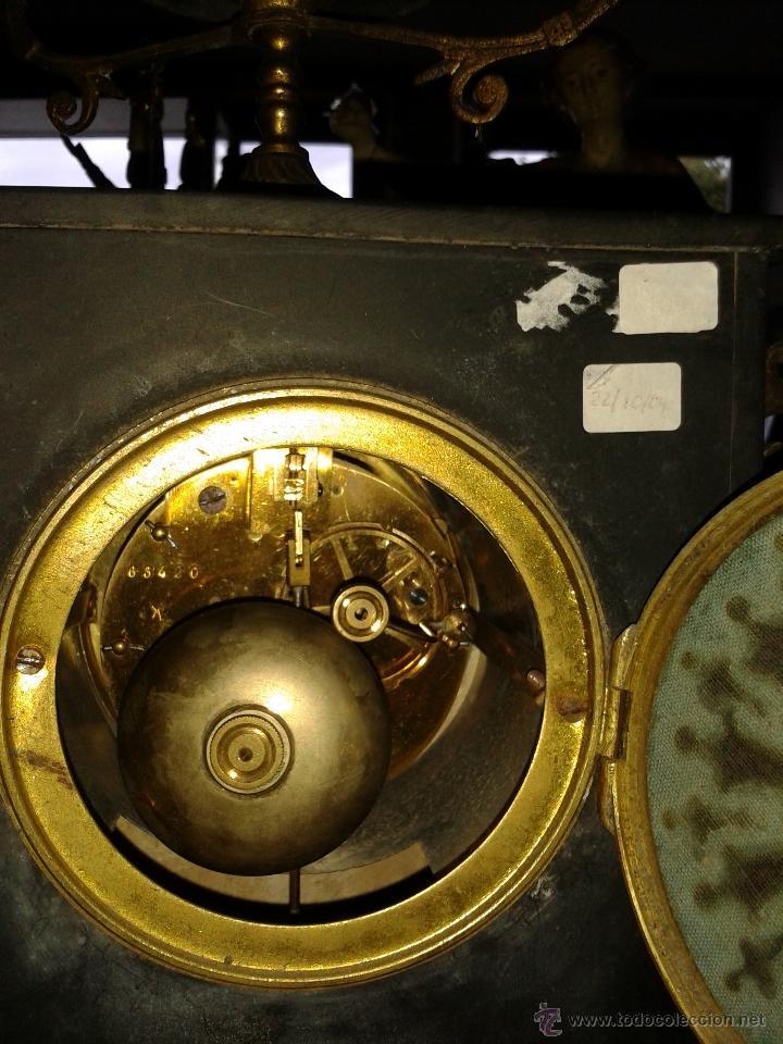 Relojes de carga manual: RELOJ FRANCES DE MARMOL -S XIX- - Foto 2 - 26542919
