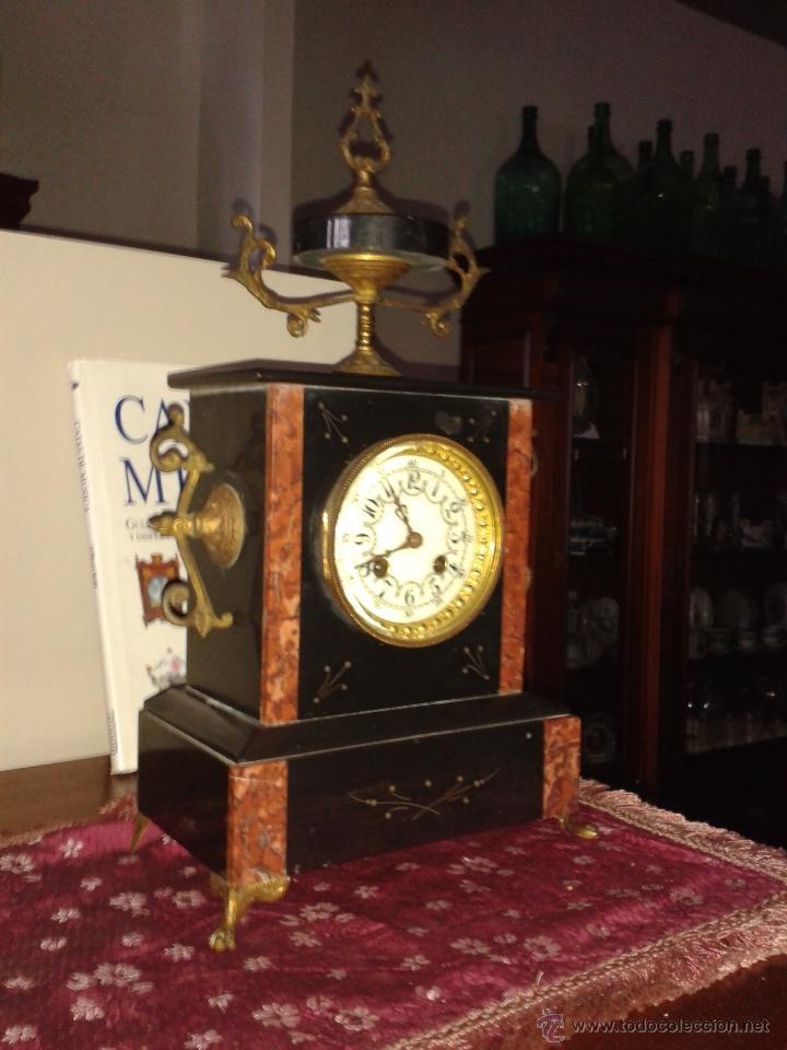 Relojes de carga manual: RELOJ FRANCES DE MARMOL -S XIX- - Foto 4 - 26542919