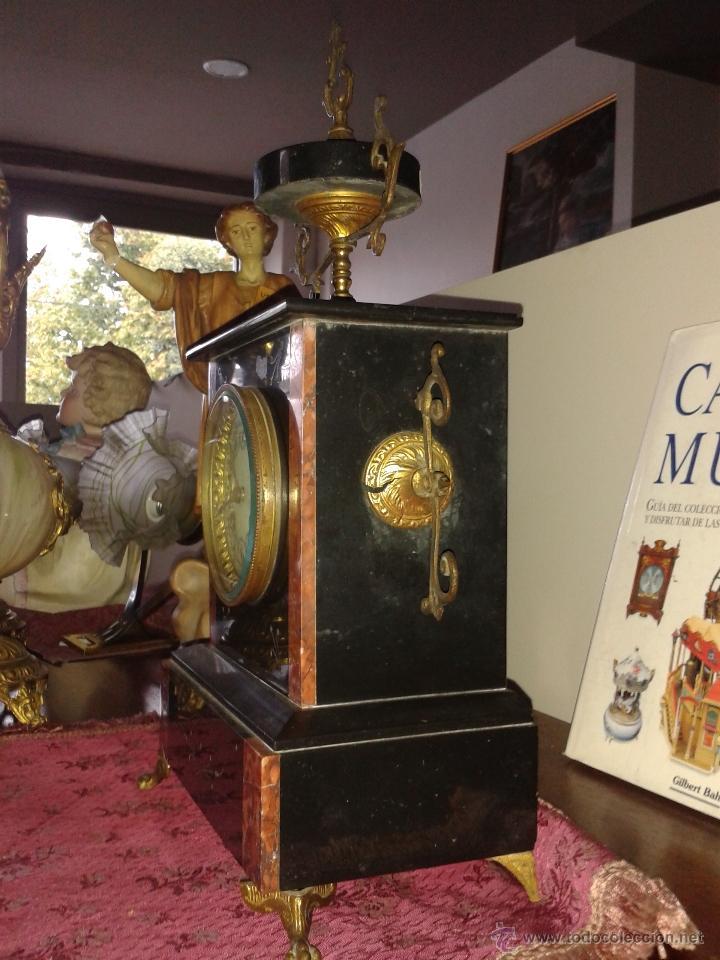 Relojes de carga manual: RELOJ FRANCES DE MARMOL -S XIX- - Foto 5 - 26542919