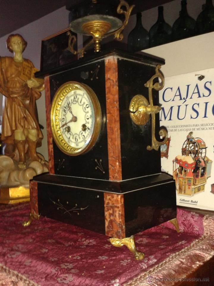 Relojes de carga manual: RELOJ FRANCES DE MARMOL -S XIX- - Foto 6 - 26542919