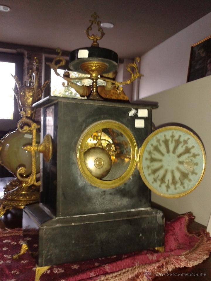 Relojes de carga manual: RELOJ FRANCES DE MARMOL -S XIX- - Foto 7 - 26542919