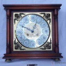 Relojes de carga manual: RELOJ ALEMAN DE SOBREMESA DE CARGA MANUAL. Lote 40806480