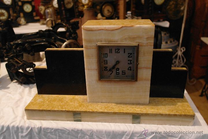Relojes de carga manual: reloj art deco marmol modernista - Foto 2 - 40810001