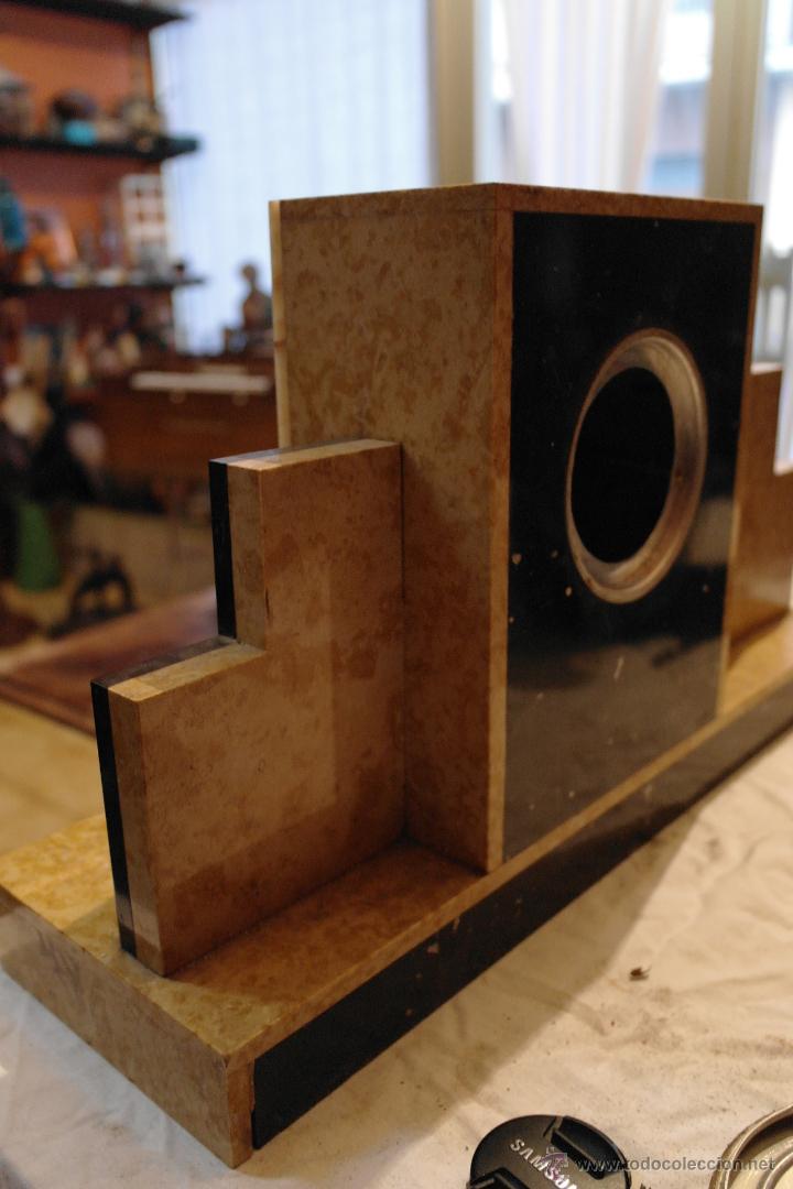 Relojes de carga manual: reloj art deco marmol modernista - Foto 4 - 40810001