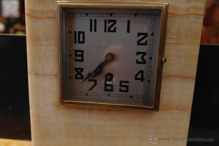 Relojes de carga manual: reloj art deco marmol modernista - Foto 5 - 40810001