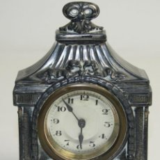 Relojes de carga manual: RELOJ DE SOBREMESA EN METAL - MARCA BAVARIA - PRINCIPIOS DEL S.XX. Lote 41019982